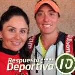 DANIELA MUÑOZ Y XIMENA HERMOSO DOS GUERRERAS, AHORA EN EL TENIS DE COMPETENCIA