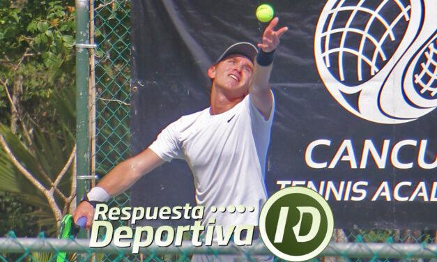 CANCUN TENNIS DRAWS-4- QUINTANA ROO: LUIS PATIÑO A UNA RONDA DEL MAIN
