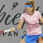 WTA DE ZAPOPAN 2020: MARIA BOUZKOVA SERÁ DE LAS FAVORITAS